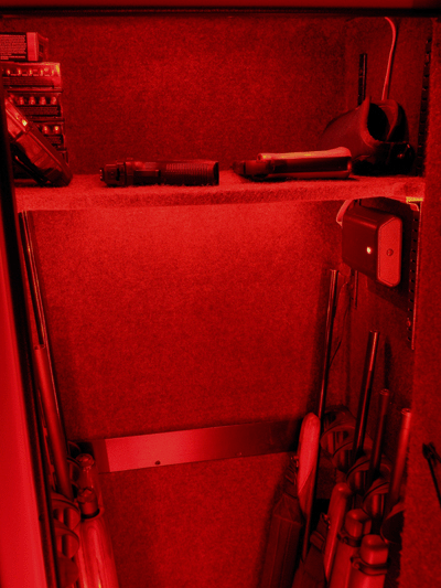 Gun Safe Light Red LED Mode